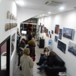 "En la expo. Espacio ""Arte Blanco Tattoo"""